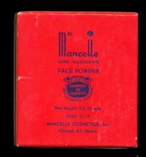 1920's Marcelle Face Powder Art Deco in Box