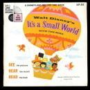 1968 Walt Disney 'Its A Small World Record w Song Book'  VG condition - complete with record (very little scratching) and song book, with sleeve Circa: 1968 Condition: Used Manufacturer: Disneyland Records