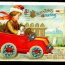 Ellen Clapsaddle Valentine's Day Driving Auto Postcard
