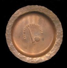 1939 New York World's Fair Copper Pin / Change  Tray