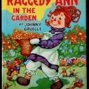 'Raggedy Ann in the Garden' 1943 McLoughlin