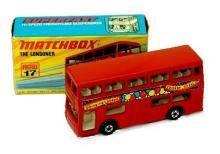 1972 Matchbox London Bus Super Fast Mint in Boc