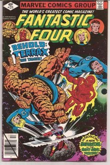 fantastic four no 211
