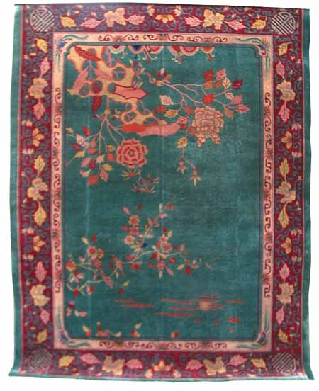 85.4545 1920 Art Deco Rug From China