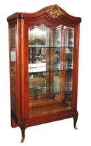 23.5402 French Oak Vitrine c. 1890