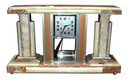 63.5481 Original 1920's Marble Art Deco Clock