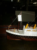 83.5508 Detailed Model of the RMS Titanic c. 1920