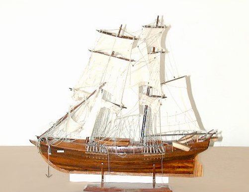 83.5511C 19th C. Galleon Ship Models