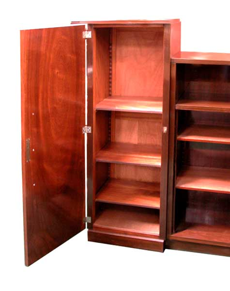 20.1405 Mahogany Art Deco Bookcase c.1930