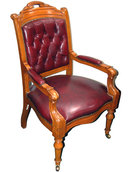 30.2425 California State Capital Chairs in Oak or Mahogany