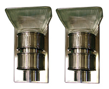 59.5787 Pair of Art Deco/Machine Age Sconces