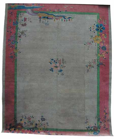 85.4544 1920'S Art Deco Rug From China