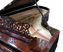 79.5220 Antique Rosewood Knabe Concert Grand Piano