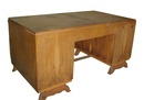 10.1438 Rosewood Art Deco Desk c. 1930