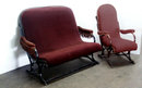 38.2312 Rare Thonet Bentwood Settee & Matching Chair