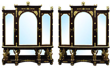 23.5970 Pair of French Empire Vitrines