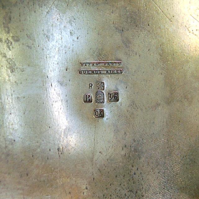 83.5981 WMF Silver Plate Art Nouveau Tea Set