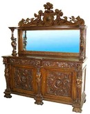 24.6217 American Renaissance Revival Sideboard by Horner Brothers
