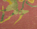 5159 Handwoven and Handknotted Art Deco rug with a Beautiful Floral Pattern c. 1920