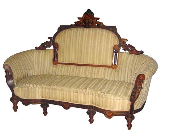 37.5185 5-Piece American Victorian Parlour Suite c. 1890