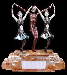 6392 Beautiful Art Deco Sculpture