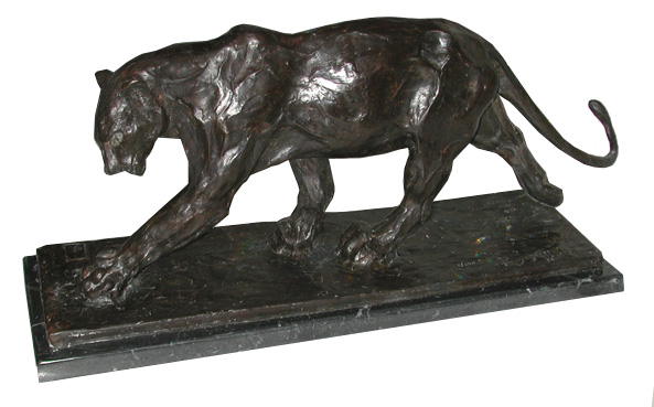 6418 Antique Bronze Art Deco