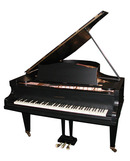 79.4597 Black Bechstein Grand Piano