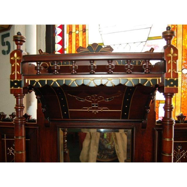 6152 American Aesthetic Movement rosewood cabinet, c.1875, New York