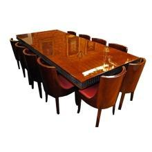 7028 French Art Deco Dining Set circa 1910