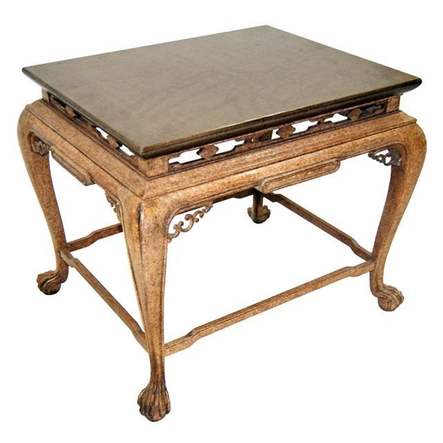 7628 Reproduction Antique Wood Table