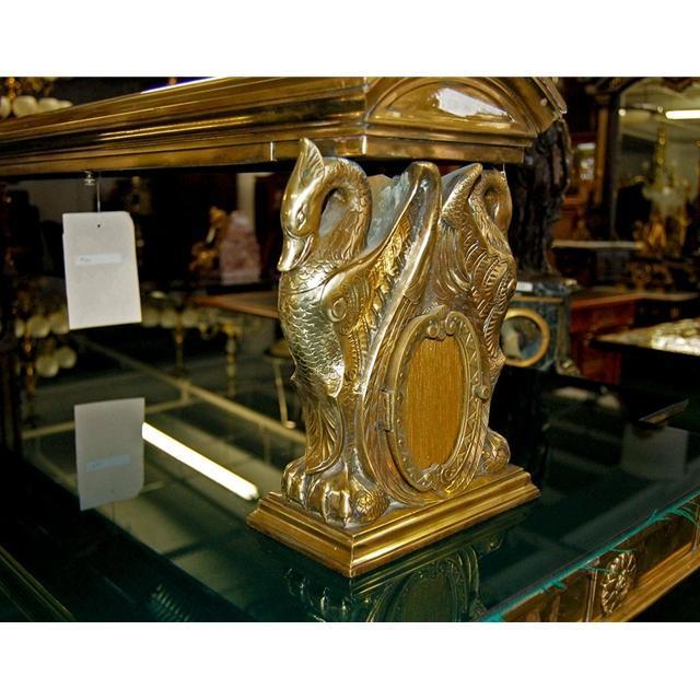 08.5625 Original American Turn-of-the-Century Gorham Bank Table