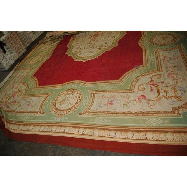 87.357 French 19th C. Aubusson Palace Rug