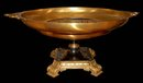 82.6648 French Bronze Round Empire Coupe Dish