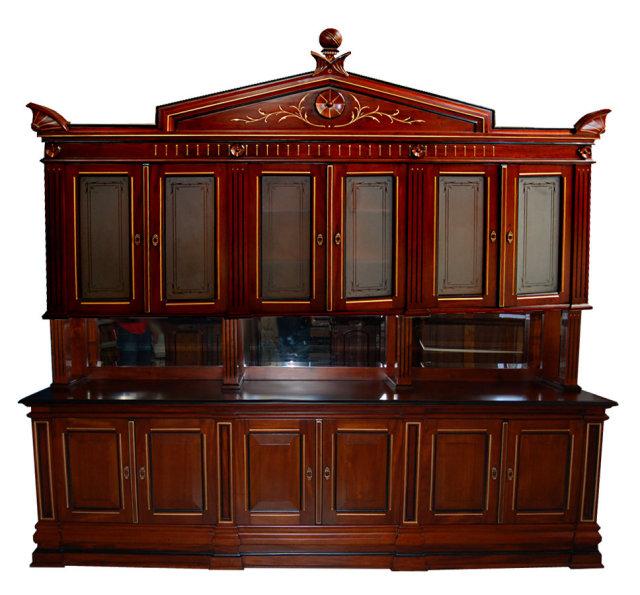 24.4559 American Cabinet Walnut Bookcase