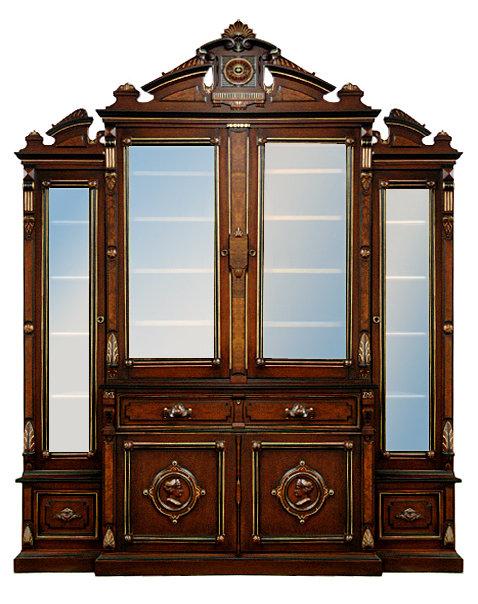 24.5044 American Renaissance Revival Bookcase/Desk