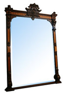 72.5709 Renaissance Revival Mantel and Over Mirror