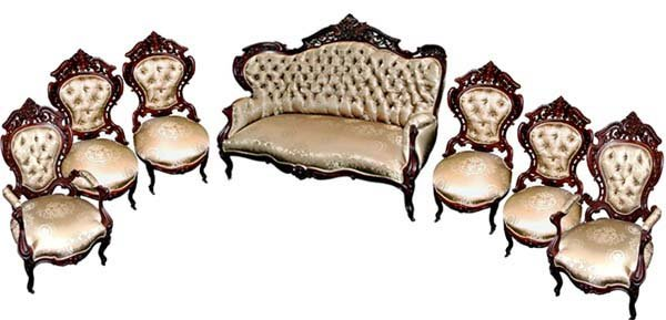 33.6749 7-Pc. Stanton Hall Parlour Set by J. Meeks