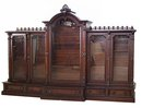 24.5954 American Victorian 5-Door Bookcase c. 1890