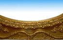 6791 Rococo Gilded Grapevine Overmantel Mirror