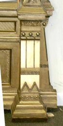6793 Gilded Victorian Aesthetic Hall Mirror