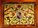 6934 Pair of American Victorian Stained Glass