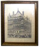 6959 Pair of Framed Church Prints
