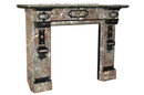 7062 Carved Marble Fireplace Mantel