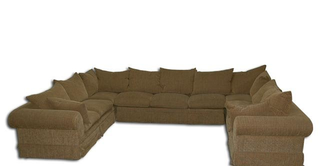 6159 Large Down Filled 4-Piece Sectional Sofa