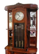 62.5109A Beautiful Empire Grandfather Clock c. 1910