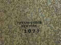 82.477A 19th C. Bronze Tiffany Zodiac Inkwell