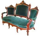 38.4942 Pair of 19th C. Walnut Victorian Sofas by John Jelliff