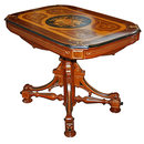 13.266 Antique Inlaid Center Table