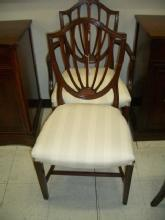 Mahogany armed chair - also, side chair