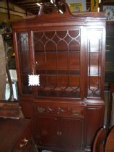 china cabinet - mahogany